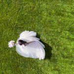 Modern Brunette Bride